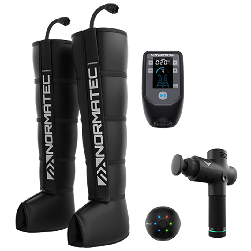 What's included in the NormaTec Hyperice Recovery Legacy Pack